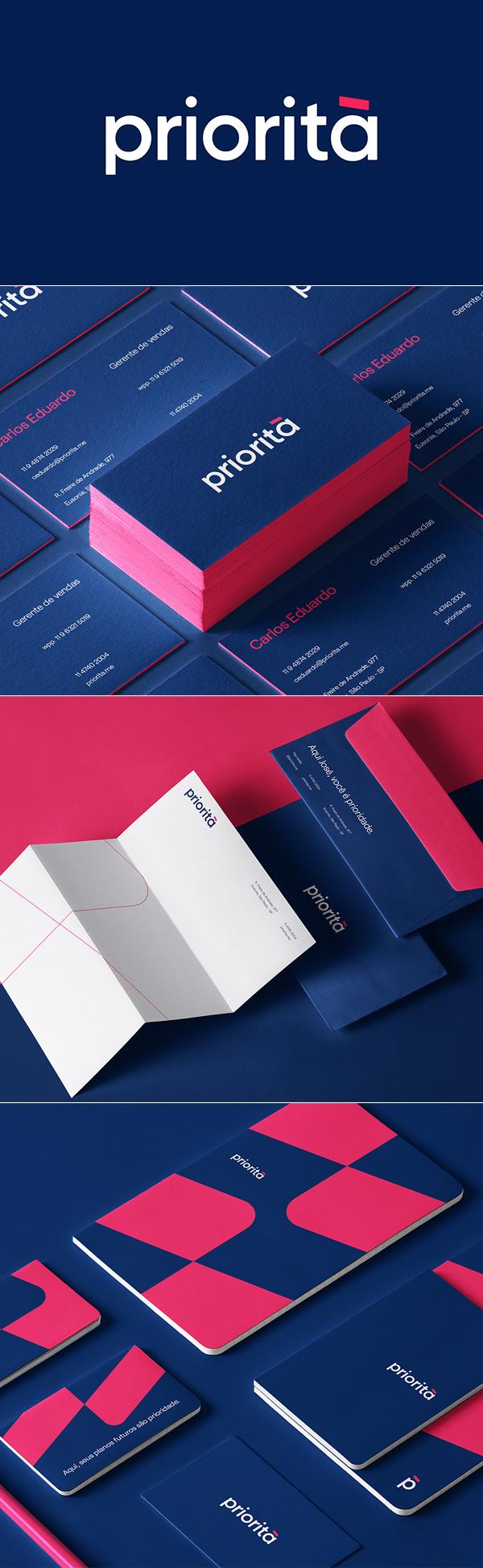 Priorita Joao Branding Identity by Marcos