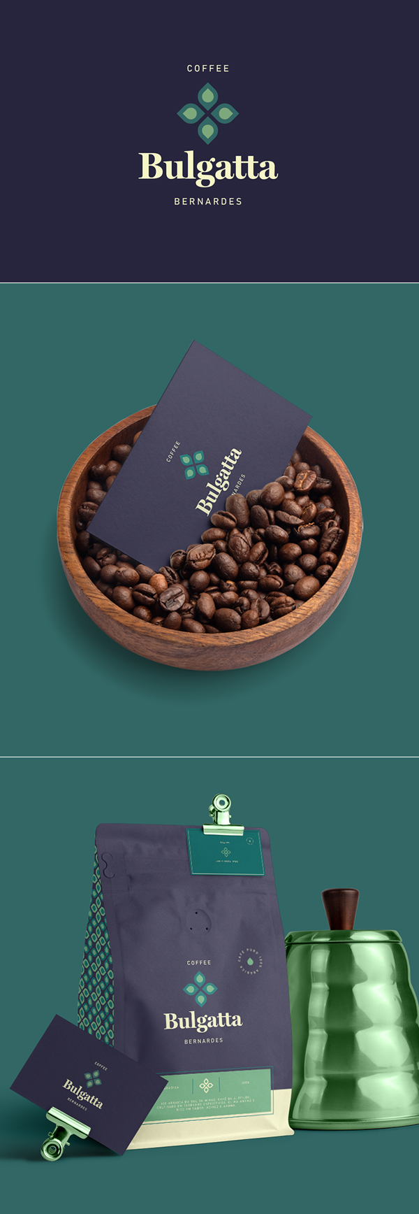 Coffee Bulgatta Bernardes Branding Identity by Matheus Guabiraba