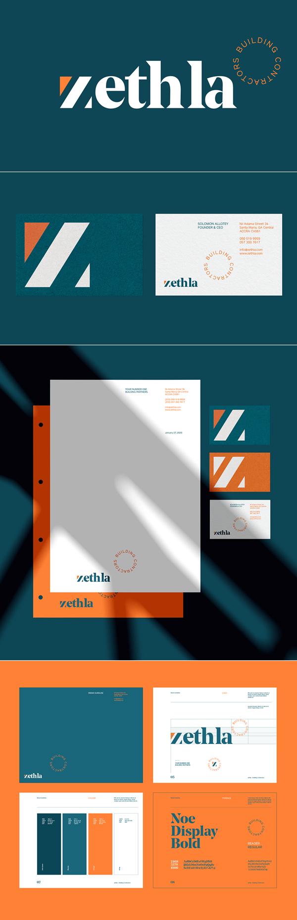 Zethla - Brand Identity by Broklin Onjei