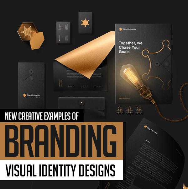 27 Creative Branding, Visual Identity and Logo Design Examples