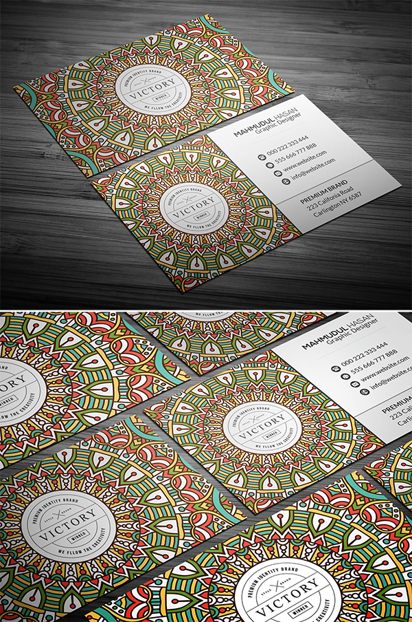 Elebant Elegant Business Card