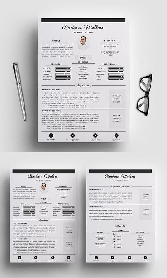 Creative Director Resume Template/CV