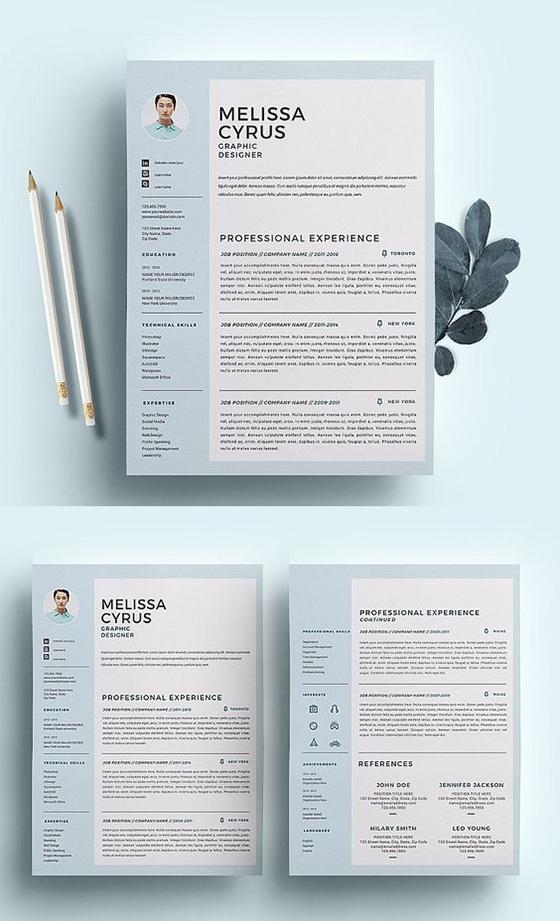 Designer Resume Template /CV