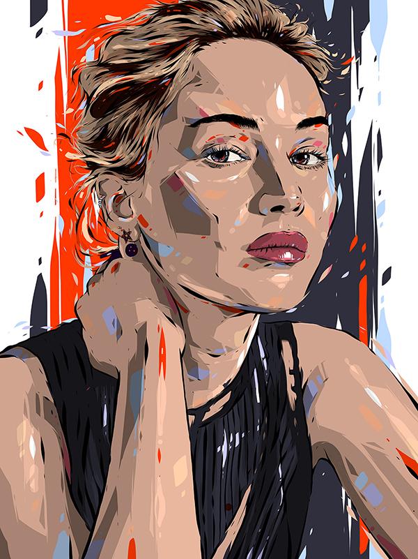 Amazing Portrait Illustrations By Alexandre Troin