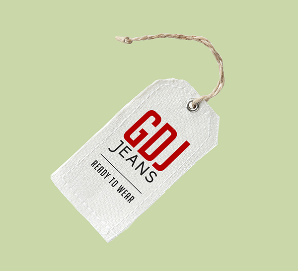 Garment Label Tag Mockup