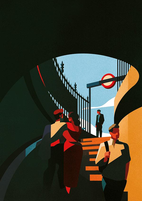 Amazing Illustration Art for Inspiration by Charlie Davis - 1