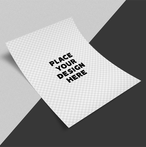 Free Flyer Mockup PSD