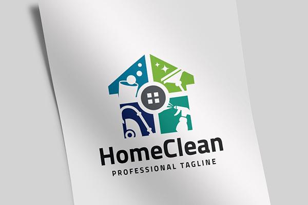 Home Clean Logo
