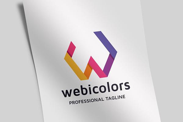 Webicolors Letter W Logo