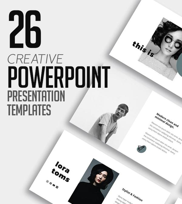 26 Creative PowerPoint Presentation Templates