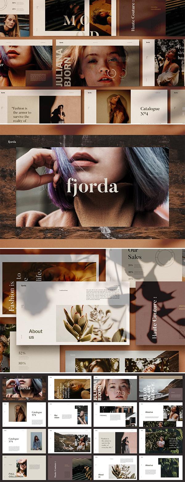 FJORDA - Powerpoint Template