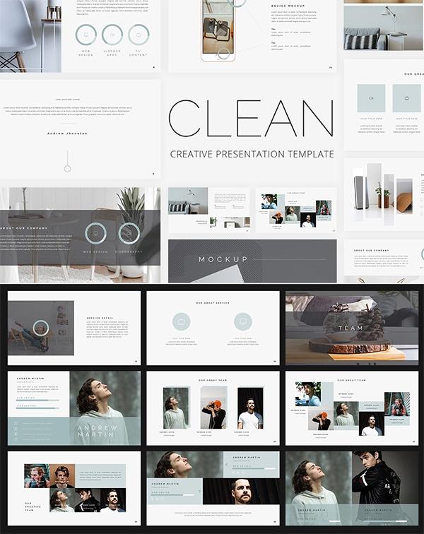 Clean - Creative PowerPoint Template
