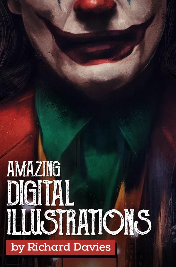 Amazing Digital Illustrations by Rich Davies