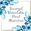 Post Thumbnail of Beautiful Watercolor Floral Illustrations