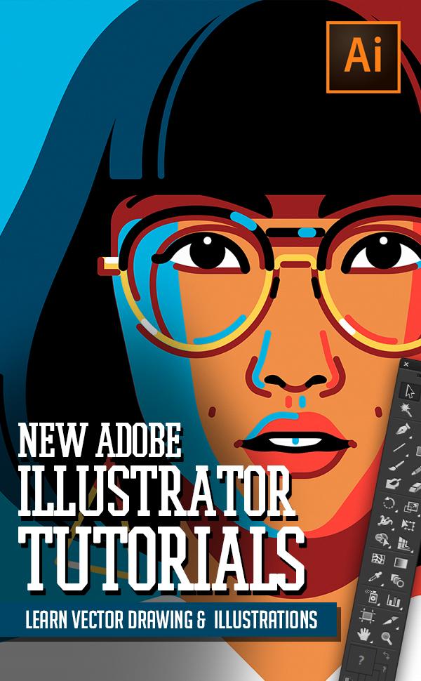Illustrator Tutorials: 30 New Adobe Illustrator Tuts Learn Drawing and Illustration