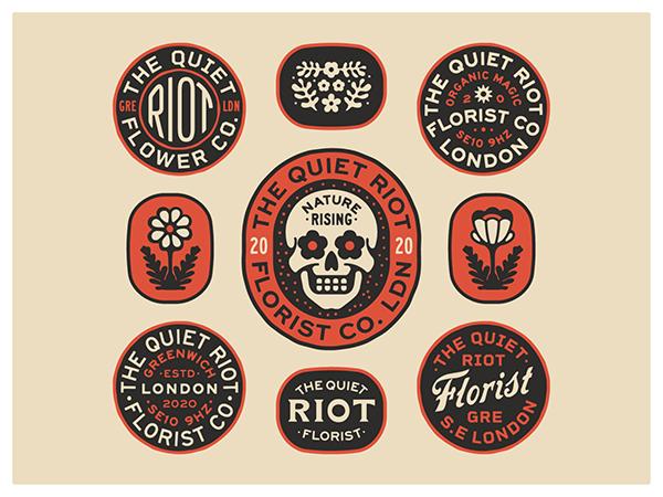 Creative Badge & Emblem Designs - 8