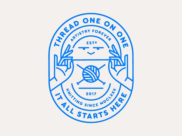 Creative Badge & Emblem Designs - 9