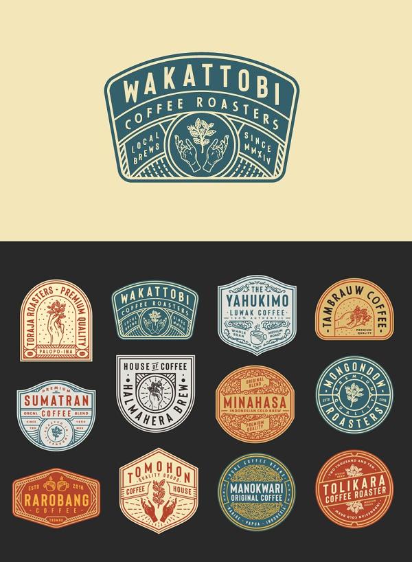 Coffee Logo and Badge Templates