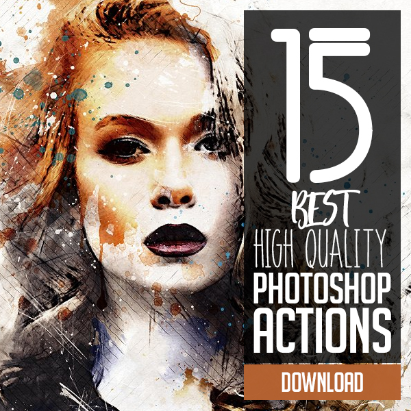 Best High Quality Photoshop Actions for Photographers & Designers