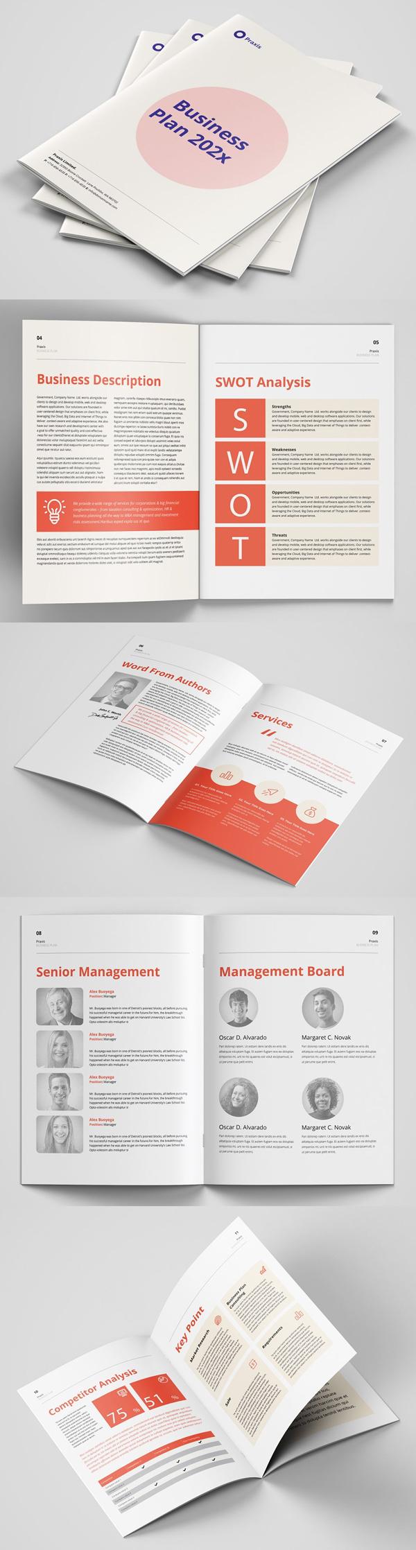 Business Plan Guild Brochure Design