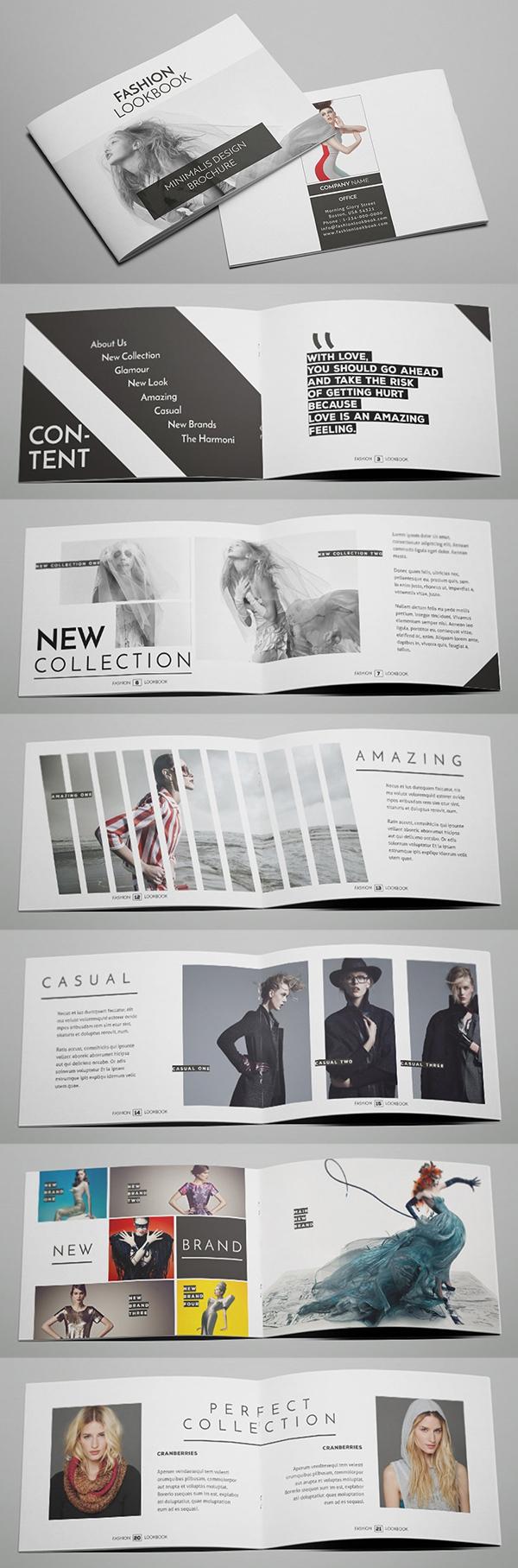 Fashion Brochure / Catalog Design Template