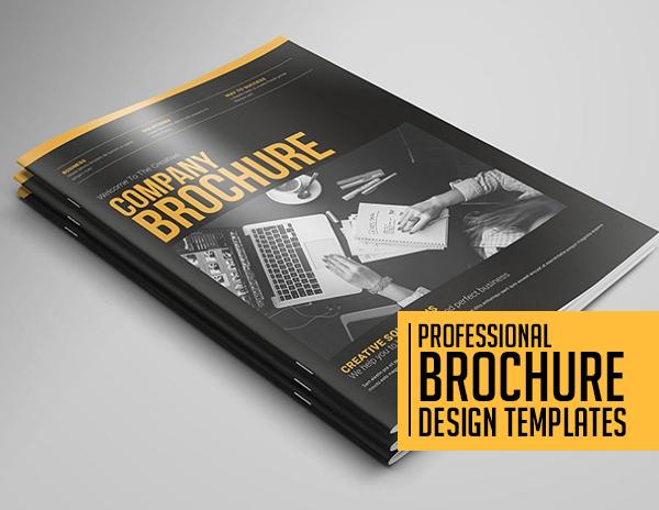 16 Professional Brochure Design Templates