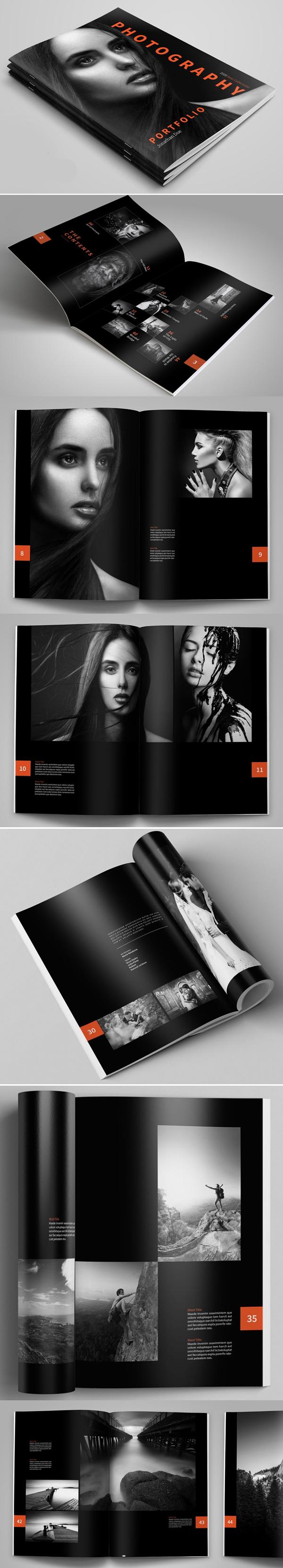 Photography Portfolio / Brochure Template