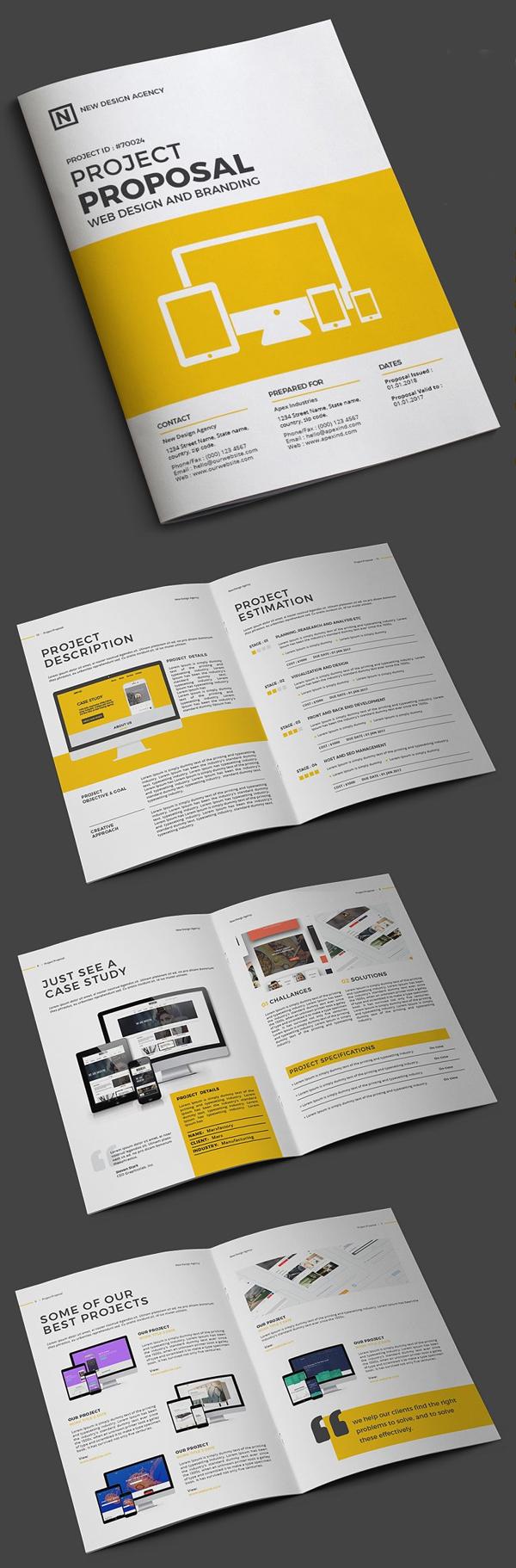 Project Proposal for Website Design
