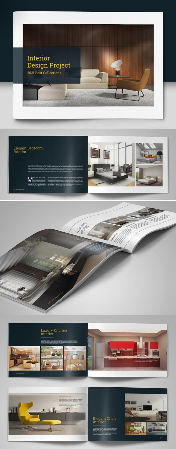Professional 20 Page Brochure / Catalogs / Portfolio Design