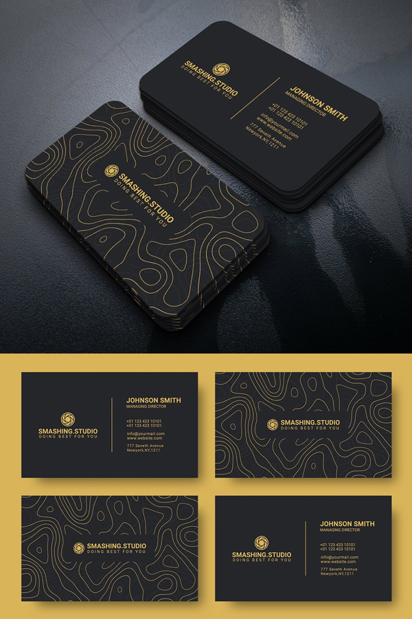 Creative Agency Business Card