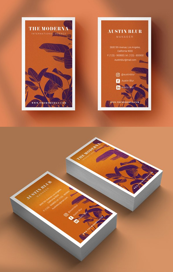 Best & Elegant Business Card Template