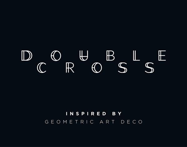 Double Cross Free Font