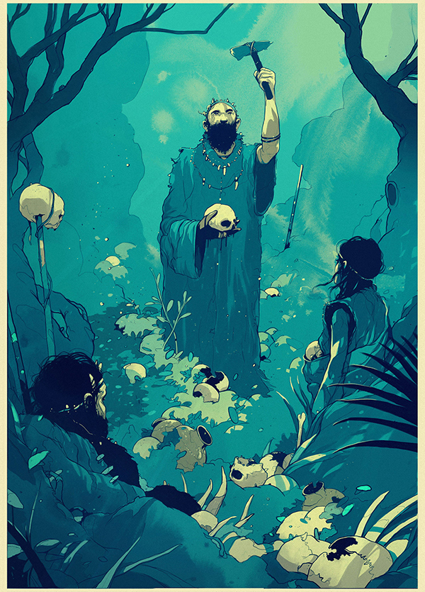 Outstanding Drawing Illustrations by Simon Prades