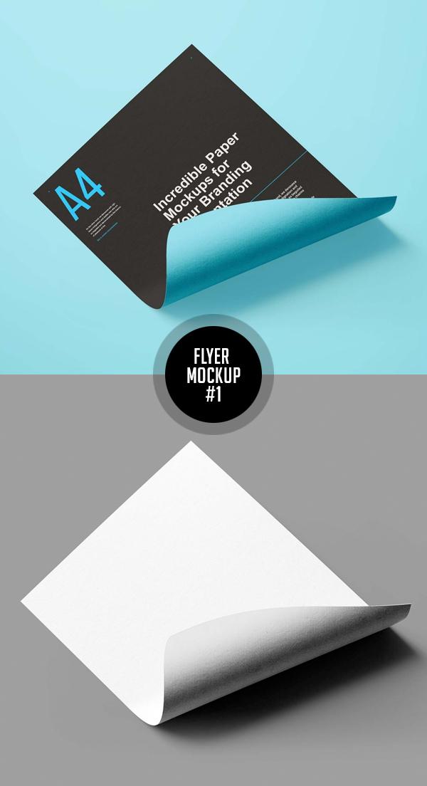 Best Free Flyer Mockups - 1