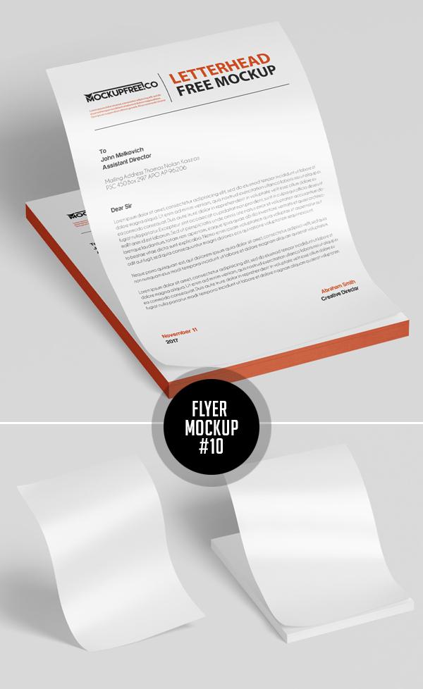 Best Free Flyer Mockups - 10