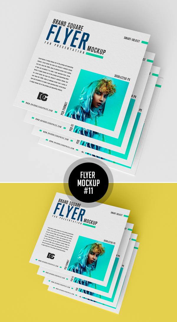 Best Free Flyer Mockups - 11