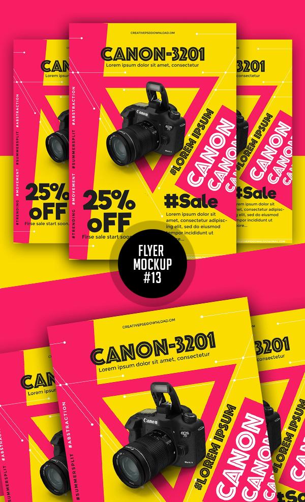 Best Free Flyer Mockups - 13