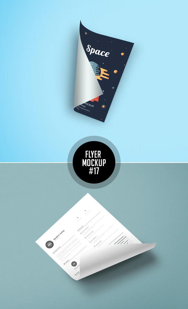 Best Free Flyer Mockups - 17