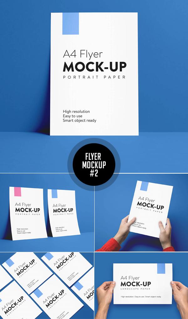 Best Free Flyer Mockups - 2