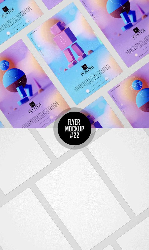 Best Free Flyer Mockups - 22
