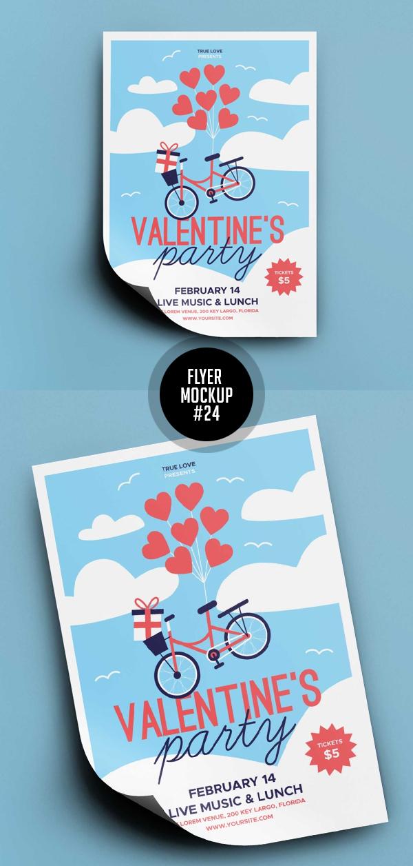Best Free Flyer Mockups - 24
