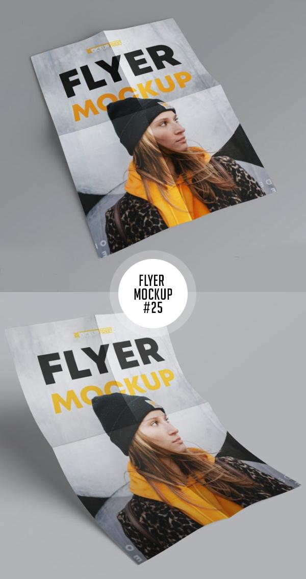 Best Free Flyer Mockups - 25