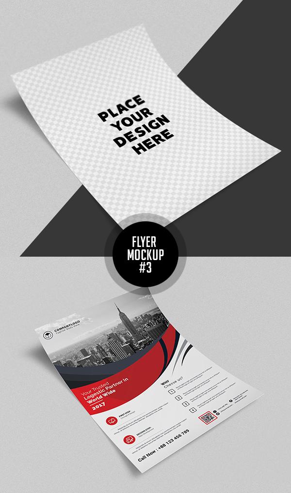 Best Free Flyer Mockups - 3