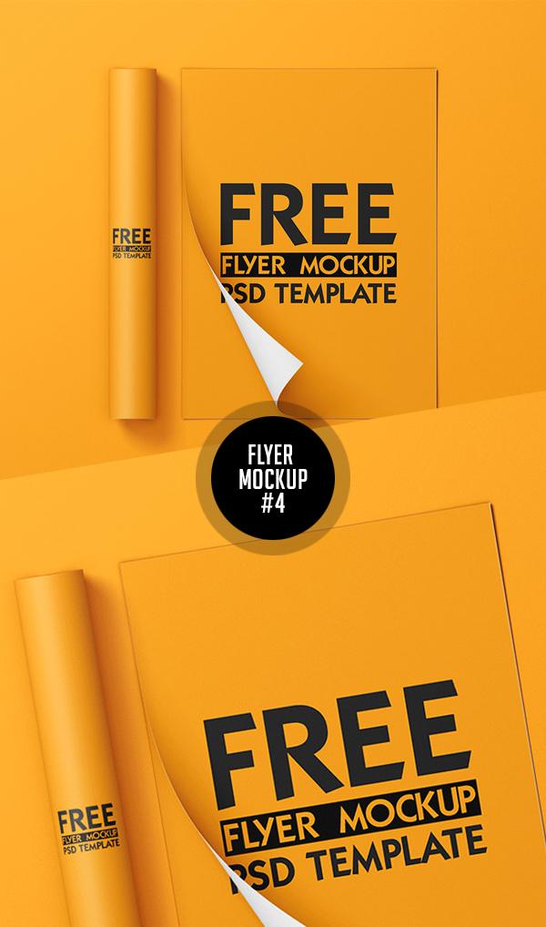 Best Free Flyer Mockups - 4