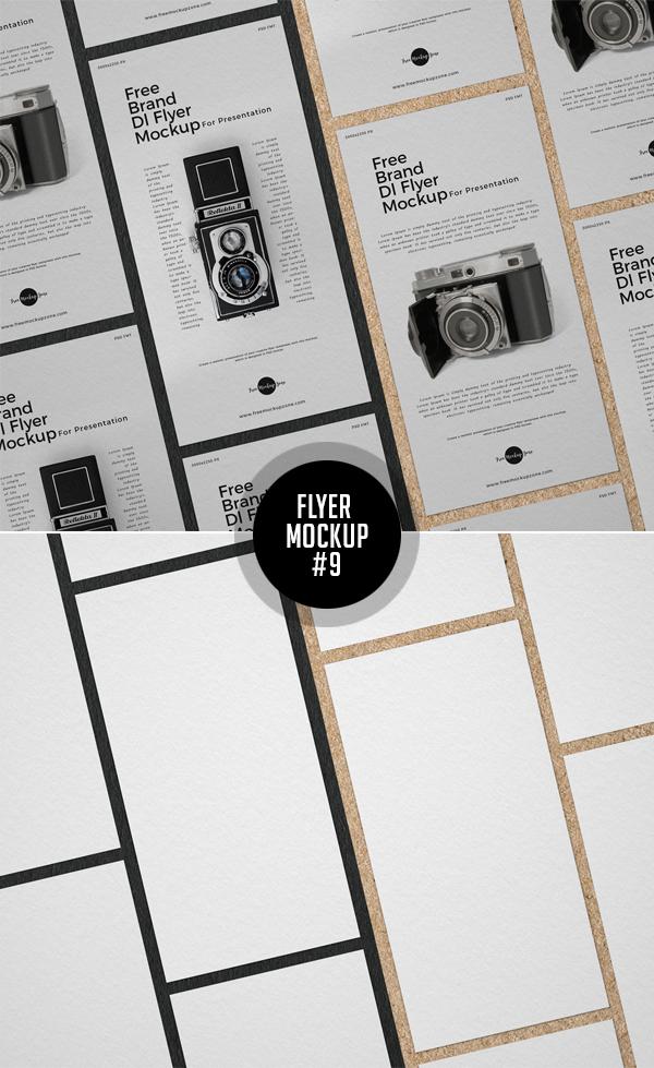 Best Free Flyer Mockups - 9