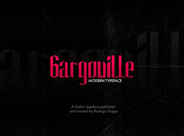 Gargouille Modern Free Font