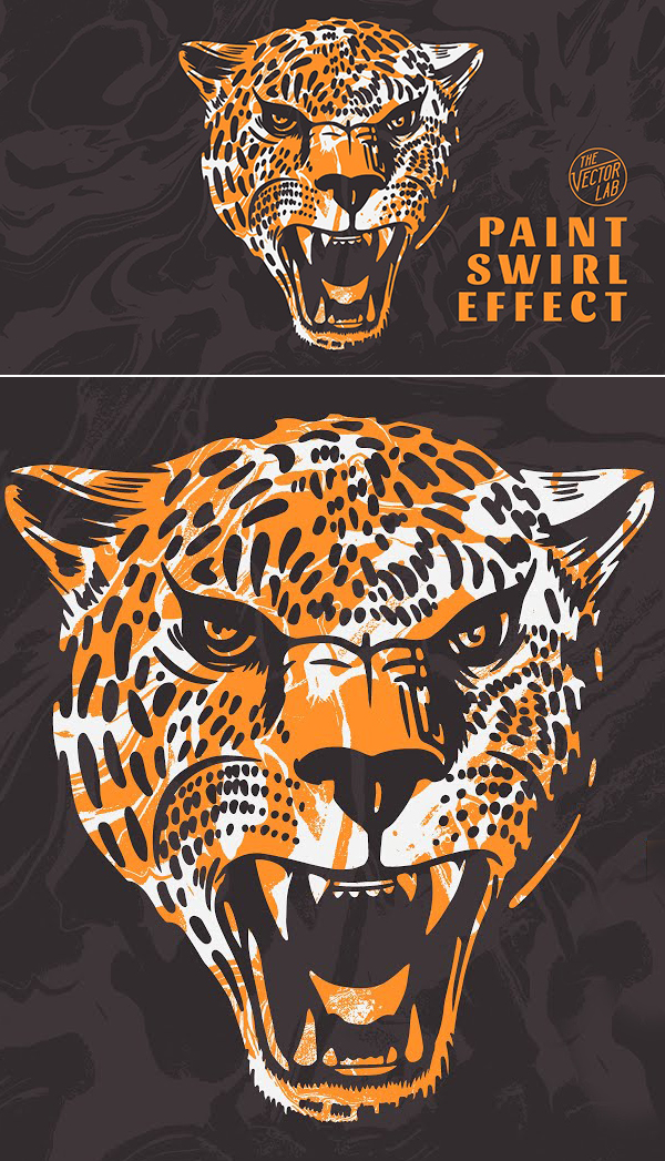 How to Paint Swirl Effect in Adobe Illustrator Tutorial