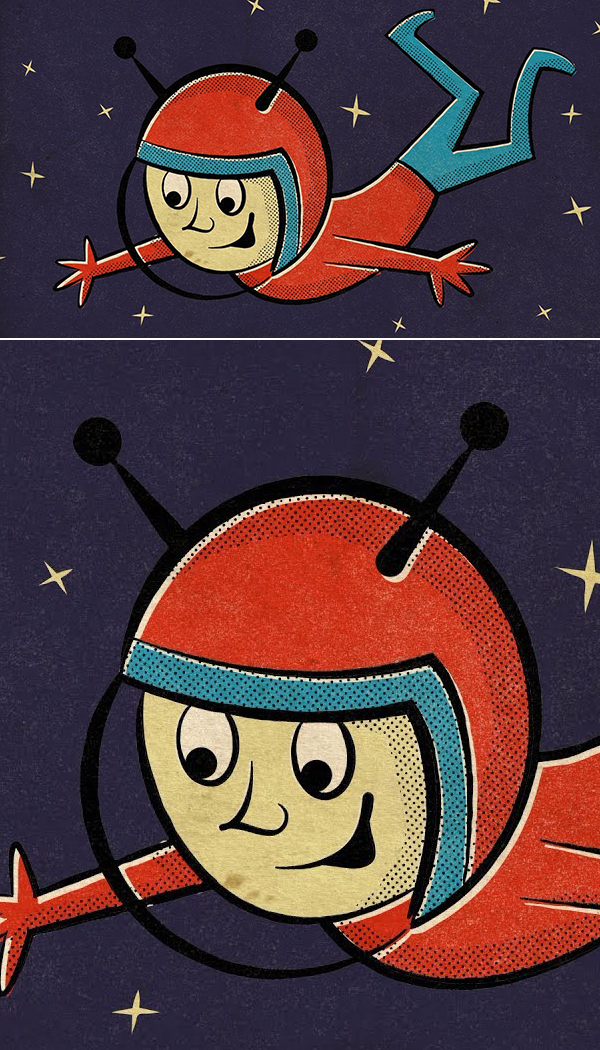 How To Create a Retro Style Cartoon Character in Illustration Tutorial