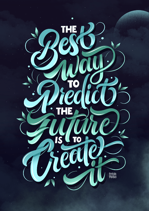 Best Typography and Hand Lettering Designs for Inspiration - 32