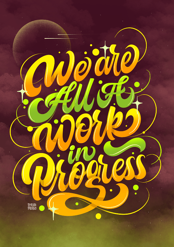 Best Typography and Hand Lettering Designs for Inspiration - 34